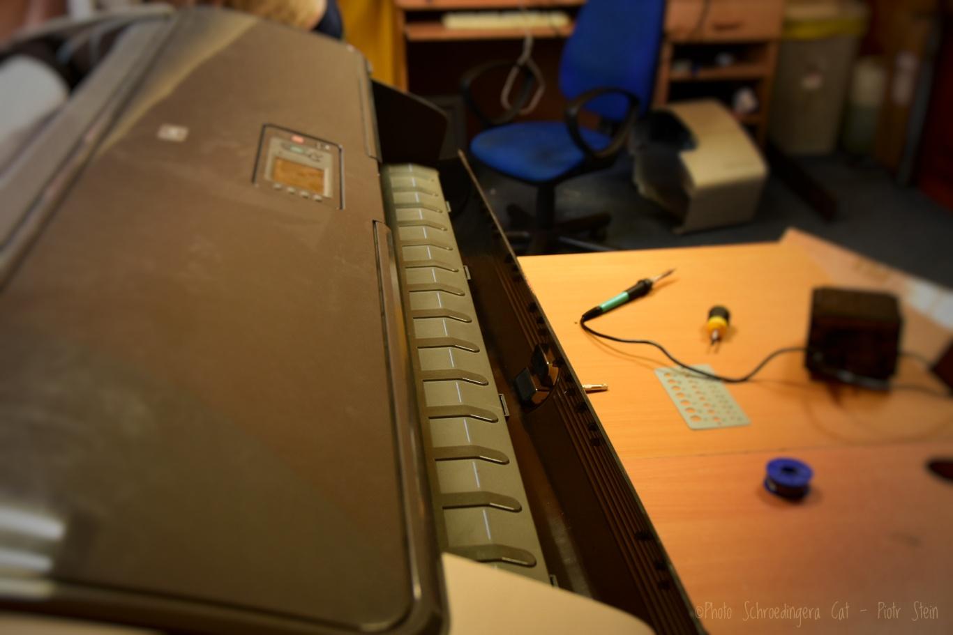 Serwis ploterów. Łatwa konserwacja drukarek HP.